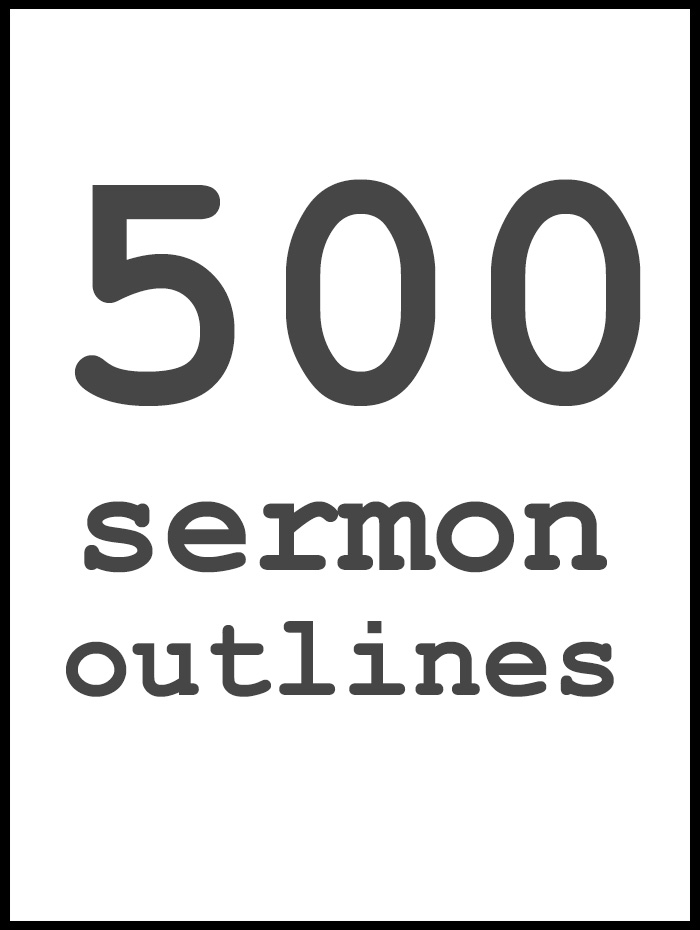 sermon outline template