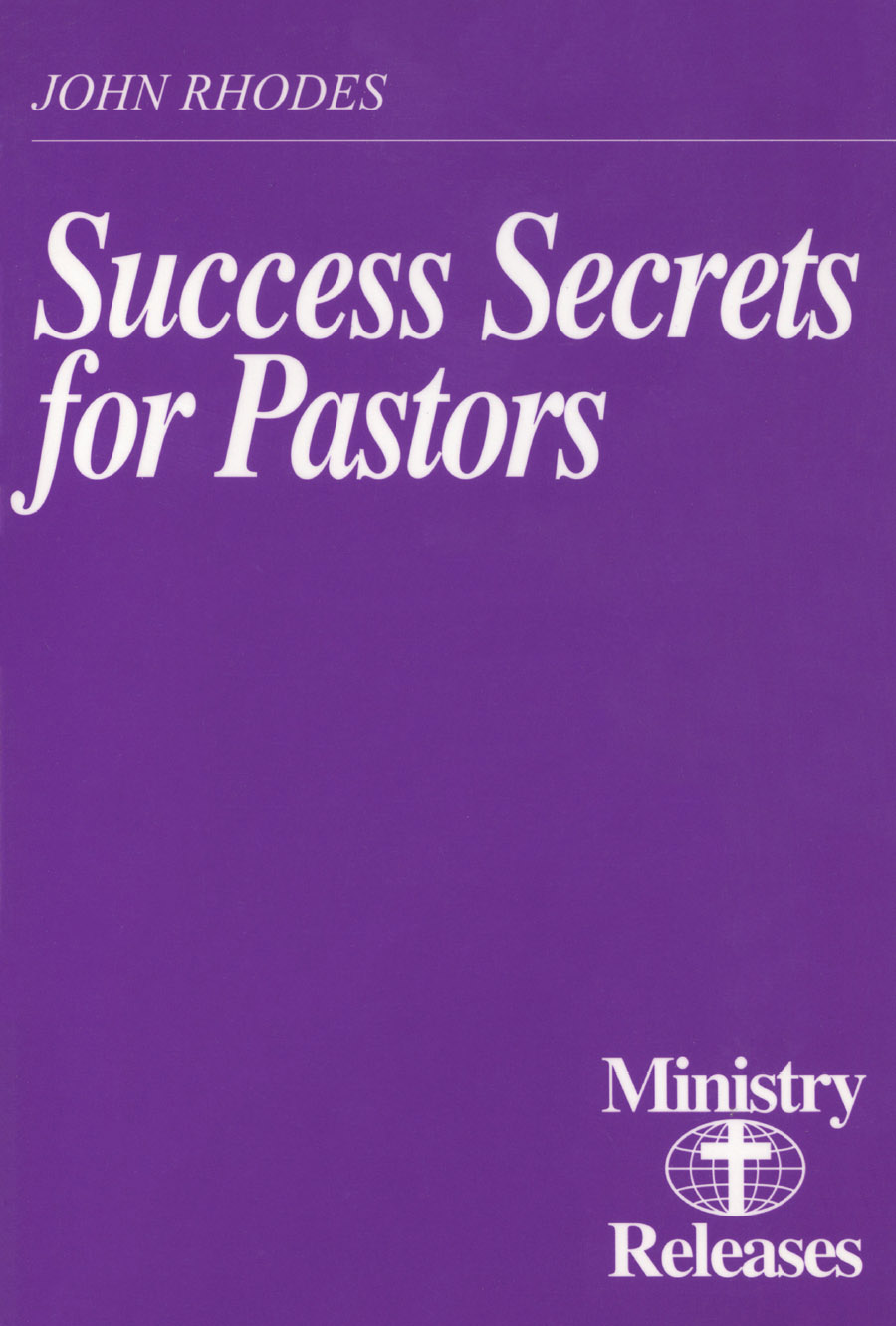 Success Secrets for Pastors (PDF) cover image