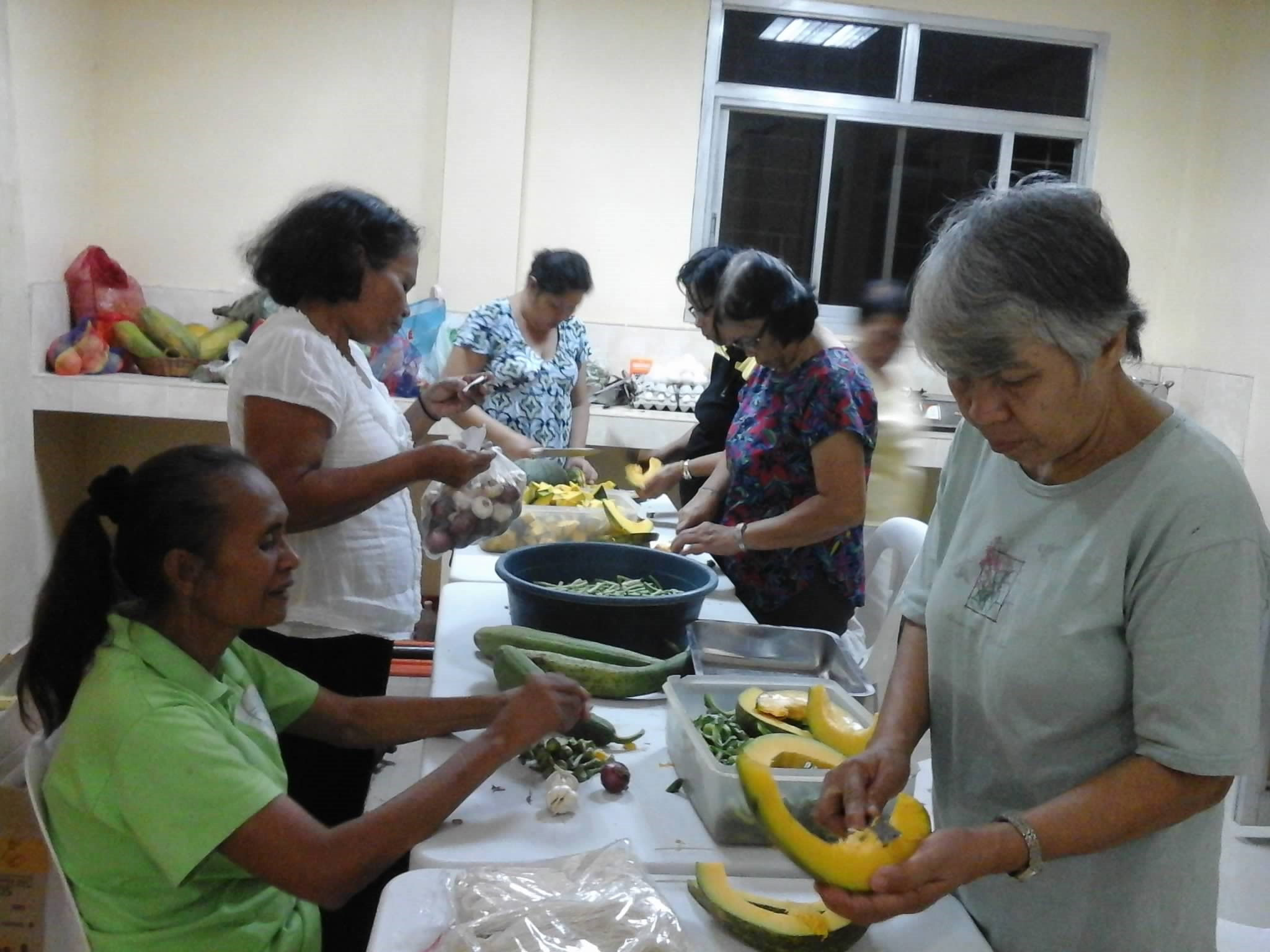 2015 October SSD Central Philippines - Preparing Healthy Meals